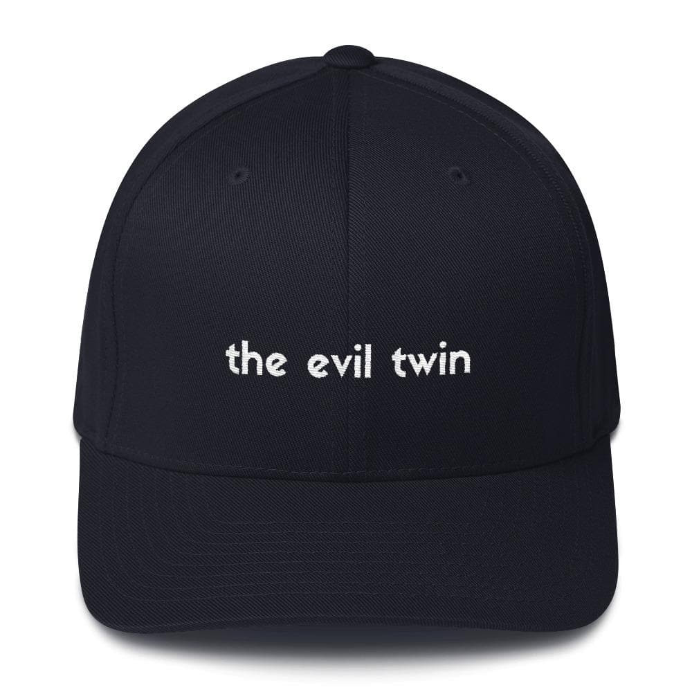 The Evil Twin Structured Hat (Black) - Twinning Store