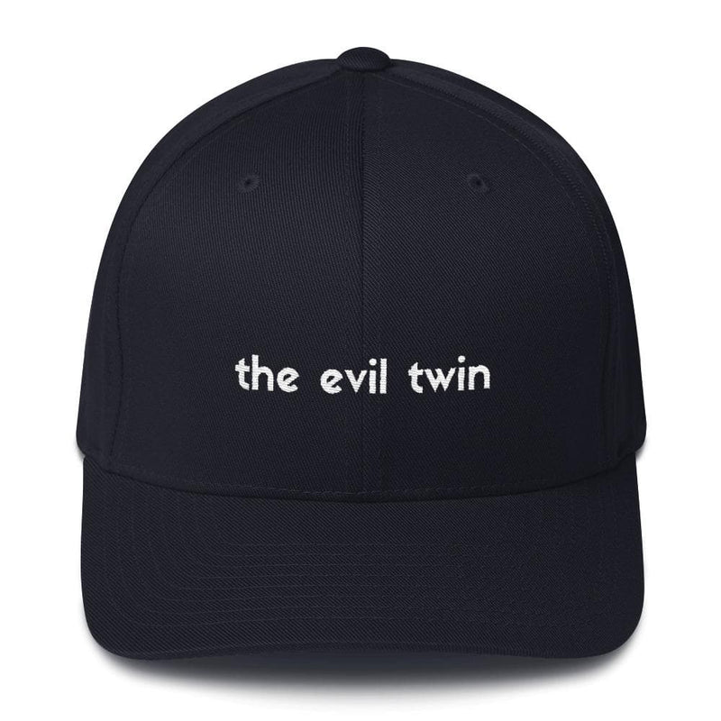 The Evil Twin Structured Hat (Black)
