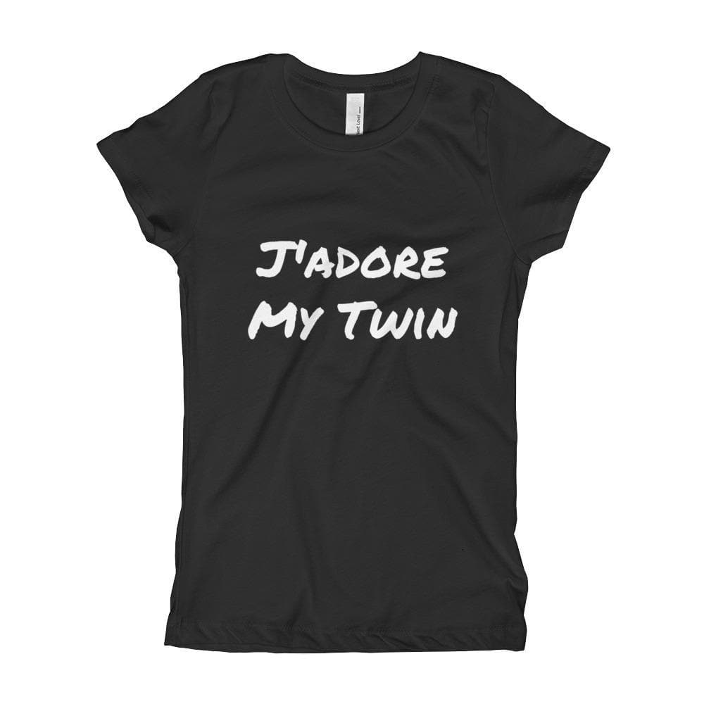 J'Adore My Twin Girl's T-Shirt