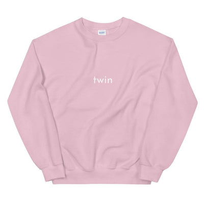 Twin Sweatshirt (Pink)
