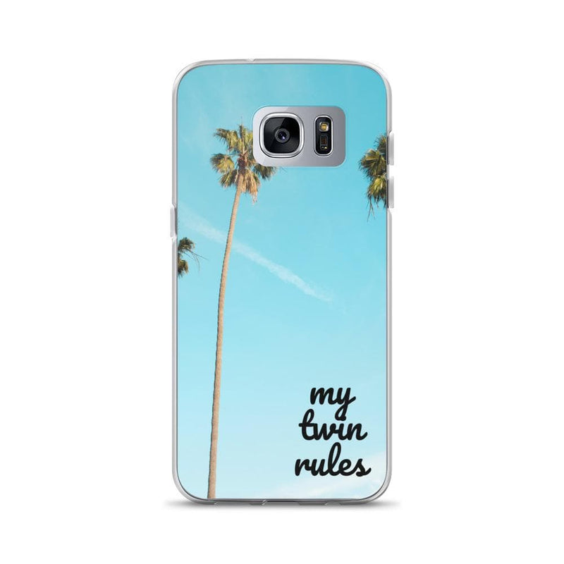 My Twin Rules Samsung Phone Case