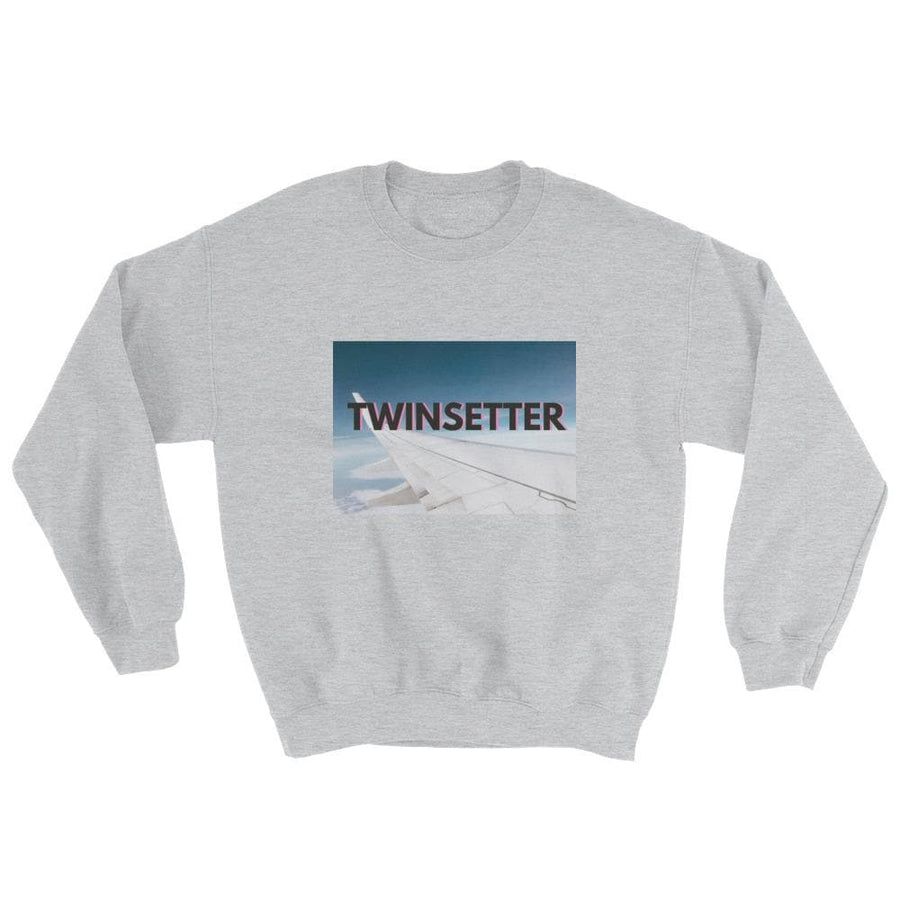 Twinsetter Sweater (Grey) - Fashion for twins TWINNING STORE
