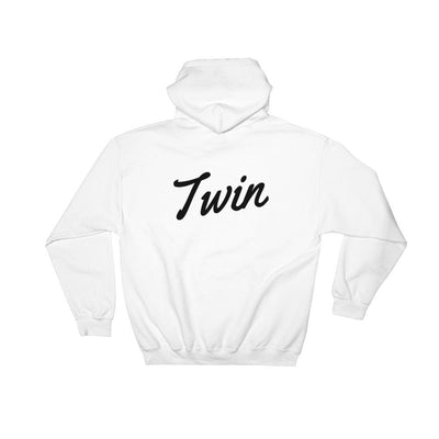TWIN HOODIE (WHITE) - Fashion for twins TWINNING STORE