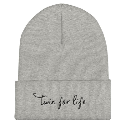 Twin for Life Beanie - Fashion for twins TWINNING STORE