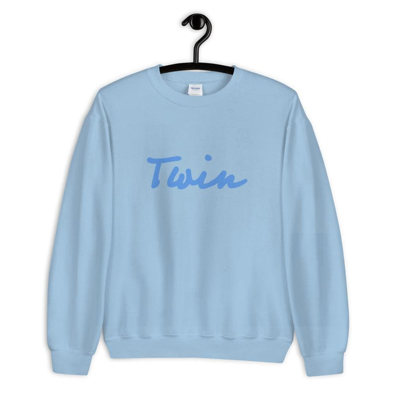 Twin sweatshirt (Light Blue)