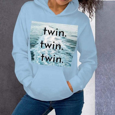 Unisex Twin Hoodie (Light Blue) - Twinning Store