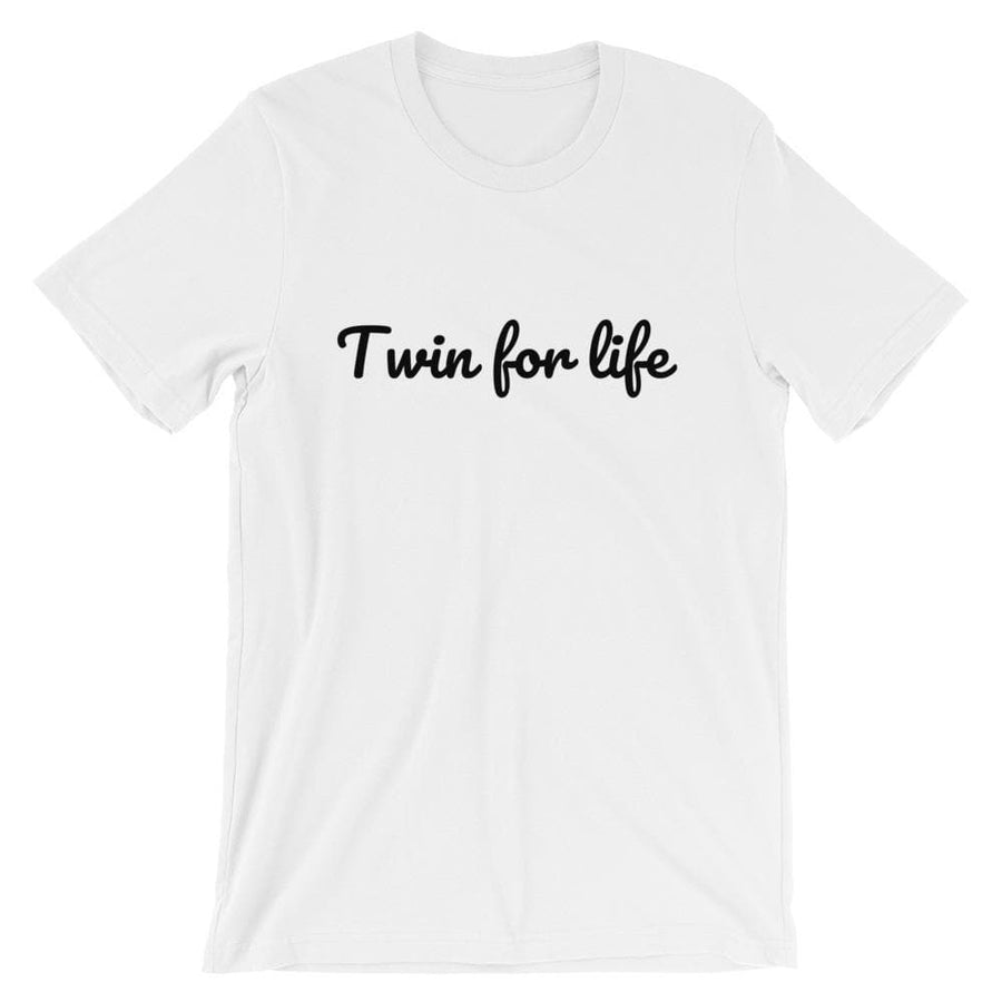 Twin For Life T-shirt (White)