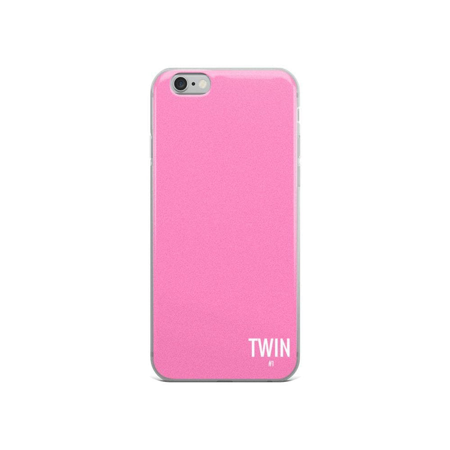 Twin #1 Iphone Case (Pink) - Fashion for twins TWINNING STORE