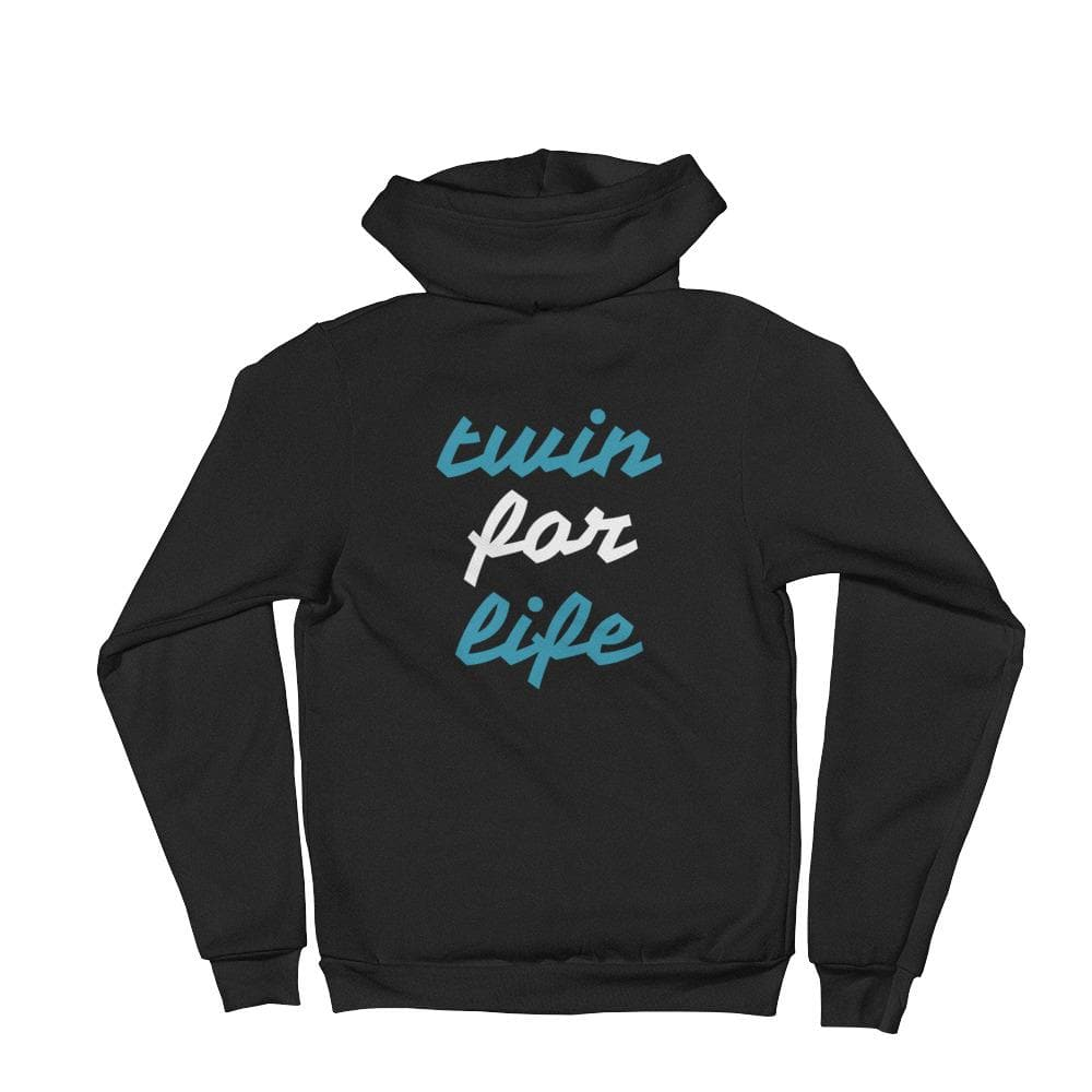 Twin For Life Hoodie (Black)