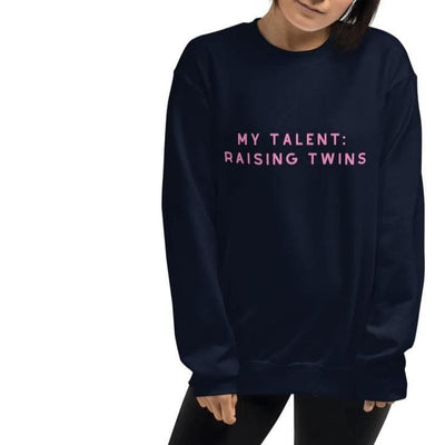 My Talent: Raising Twins - Sweater (Navy) - Twinning Store