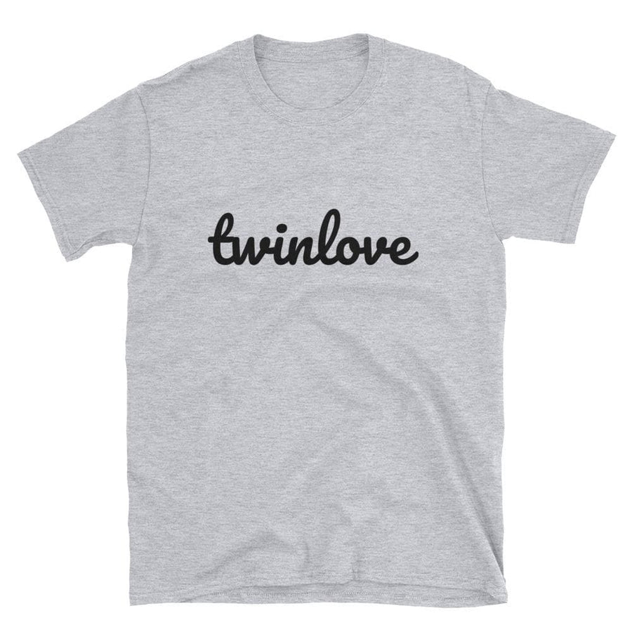 Twin Love t-shirt in Grey