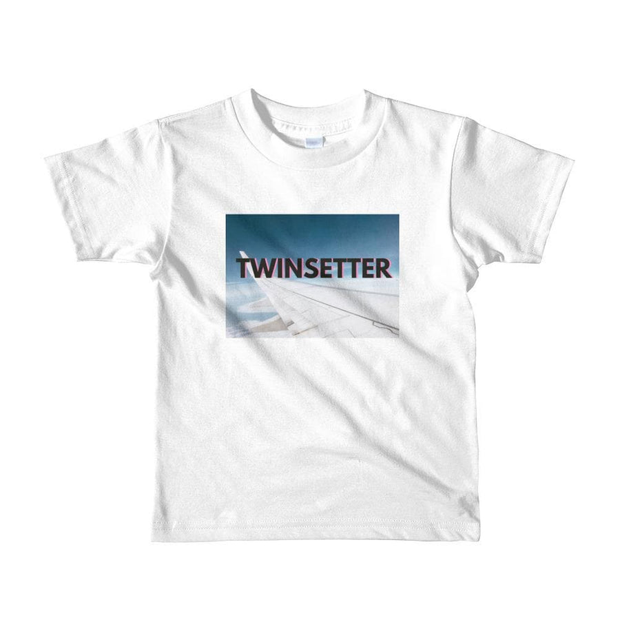 Twinsetter Toddler T-shirt (White) - Fashion for twins TWINNING STORE