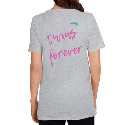 Twins Forever T-Shirt (Grey)