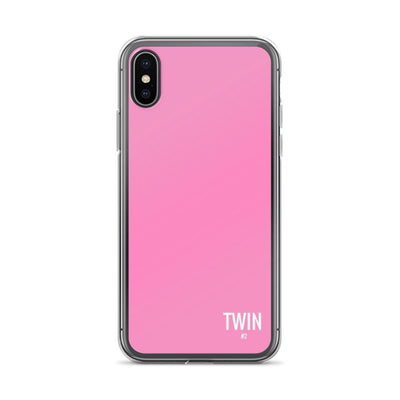 Twin #2 Iphone Case (Pink)