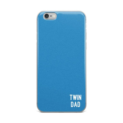 Twin Dad Iphone Case (Blue) - Fashion for twins TWINNING STORE
