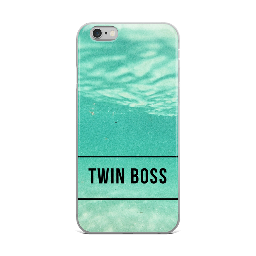 Twin Boss iPhone case in Mint from Twinning Store