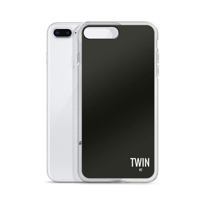 Twin #2 Iphone Case (Black)