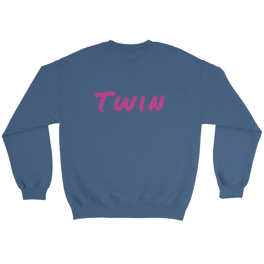 Twin Sweater (Blue) - Fashion for twins TWINNING STORE