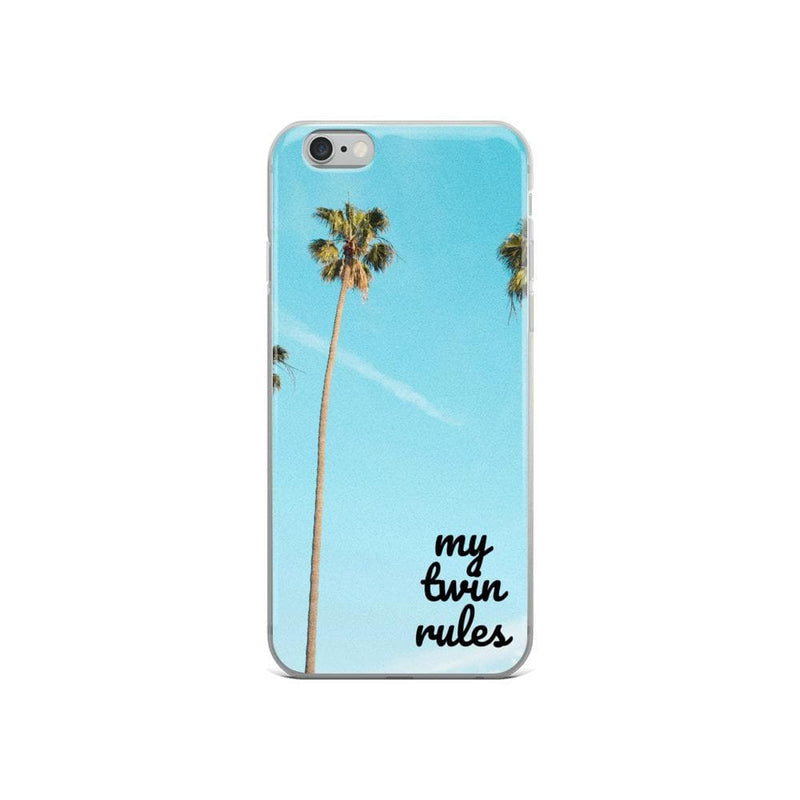 My Twin Rules Iphone Case