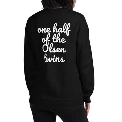 Customizable One Half of ... Twins Sweater (Black)