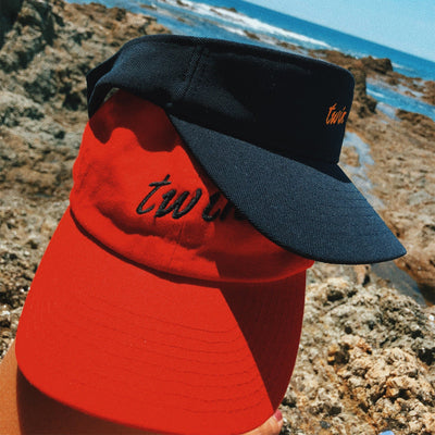 Twin Hat (Red)