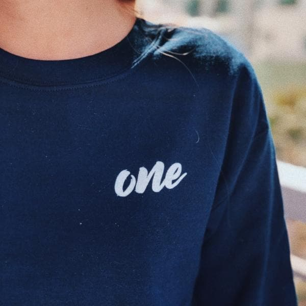 One/Tiger Tiger Sweatshirt (Navy) - Fashion for twins TWINNING STORE