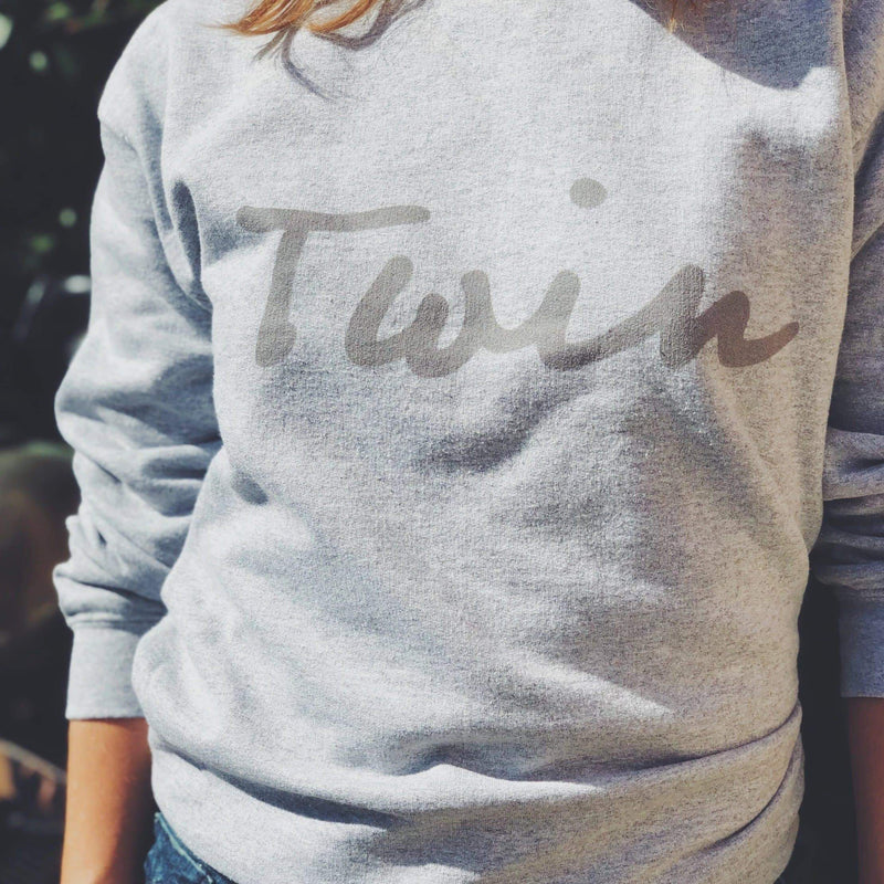 Twin sweatshirt (Grey)