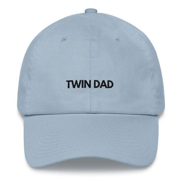 Twin Dad Hat (Light Blue)