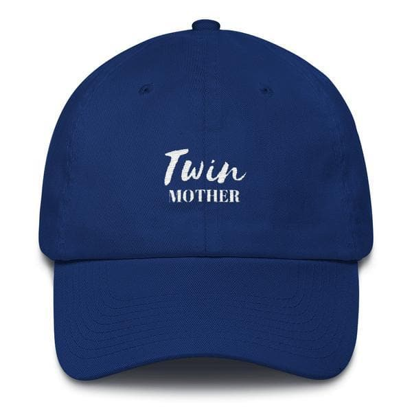 TWIN MOTHER HAT(BLUE) - Fashion for twins TWINNING STORE