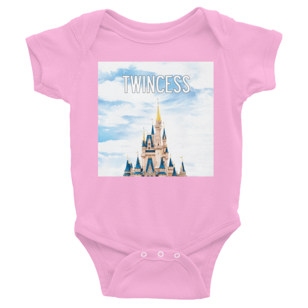 4346d8d58 Twinning Store - TWINCESS Infant Bodysuit in Pink for Twin Baby Gift ...