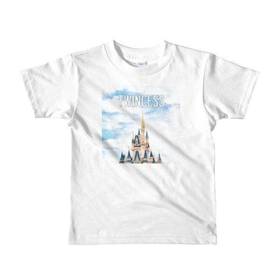 Twincess Toddler T-shirt (White)