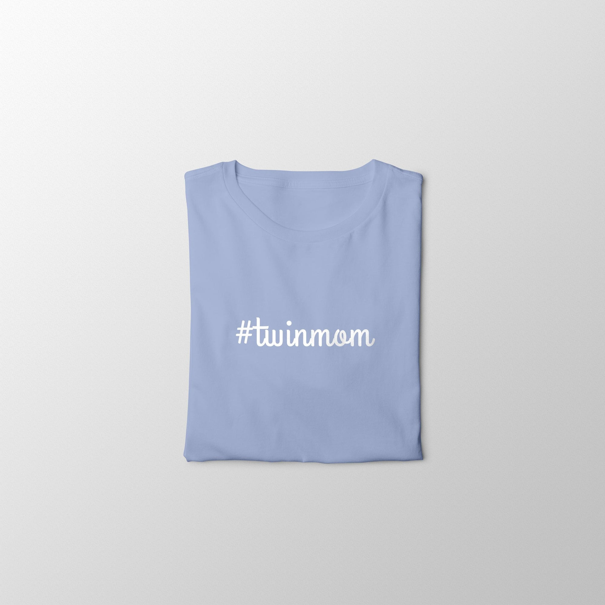 #Twinmom T-shirt (Light Blue)