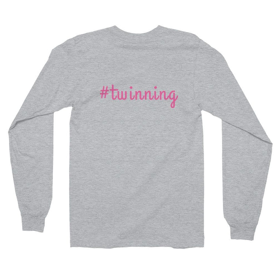#TWINNING LONG-SLEEVE SHIRT - Fashion for twins TWINNING STORE