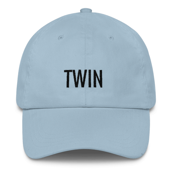 twinning store light blue twin hat