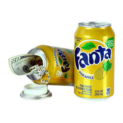 Fanta Pineapple Flavor 8oz Soda Safe Can