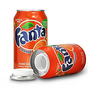 Fanta Orange Flavor 8oz Soda Safe Can