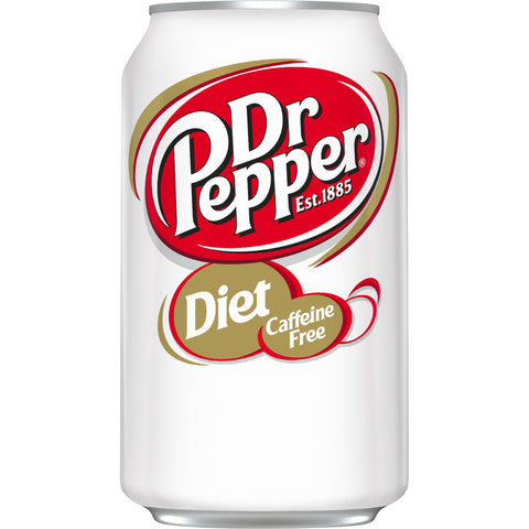 Diet Dr Pepper 8oz Soda Safe Can
