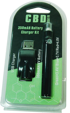 New Slim 350 mAh Button Battery