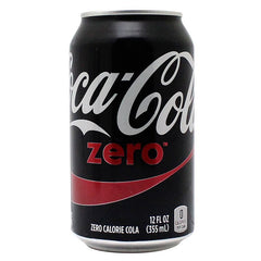 Coca Cola Zero 8oz Soda Safe Can