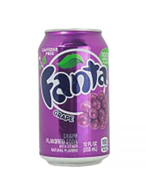 Fanta Strawberry Flavor 8oz Soda Safe Can