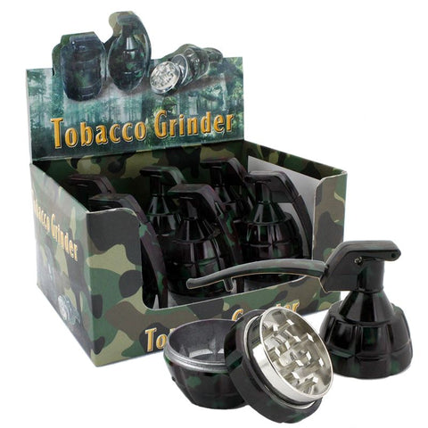 "Camo Grenade Grinder 3 part 1""5 inches"
