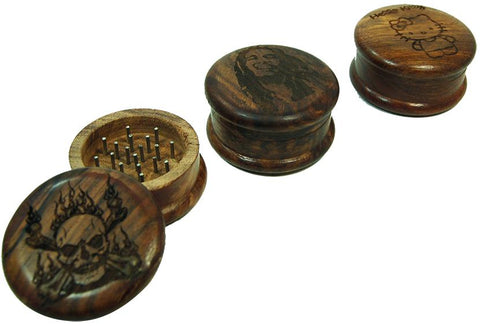 Medium Rosewood Wooden Grinder