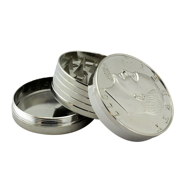 Silver Dollar Coin Grinder 3 part 2
