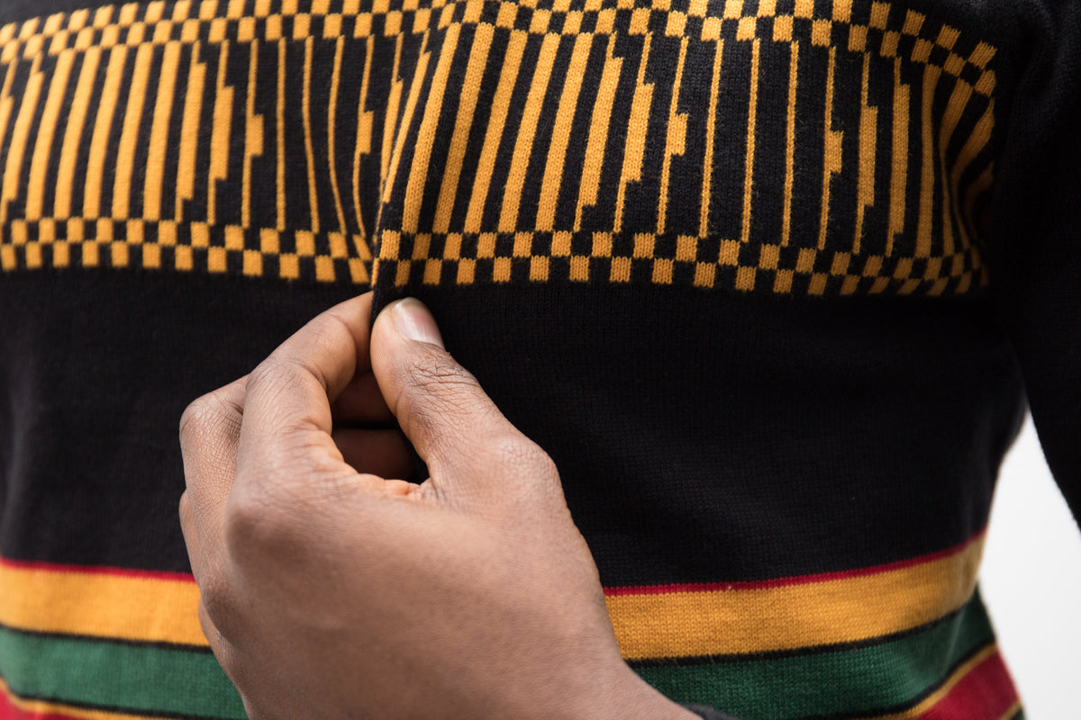 Dondo Kente Sweater