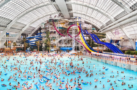 World Waterpark in Edmonton, Alberta, Canada
