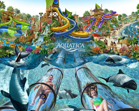 Aquatica in Orlando, Florida