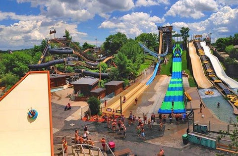 Noah's Ark Waterpark in the Wisconsin Dells
