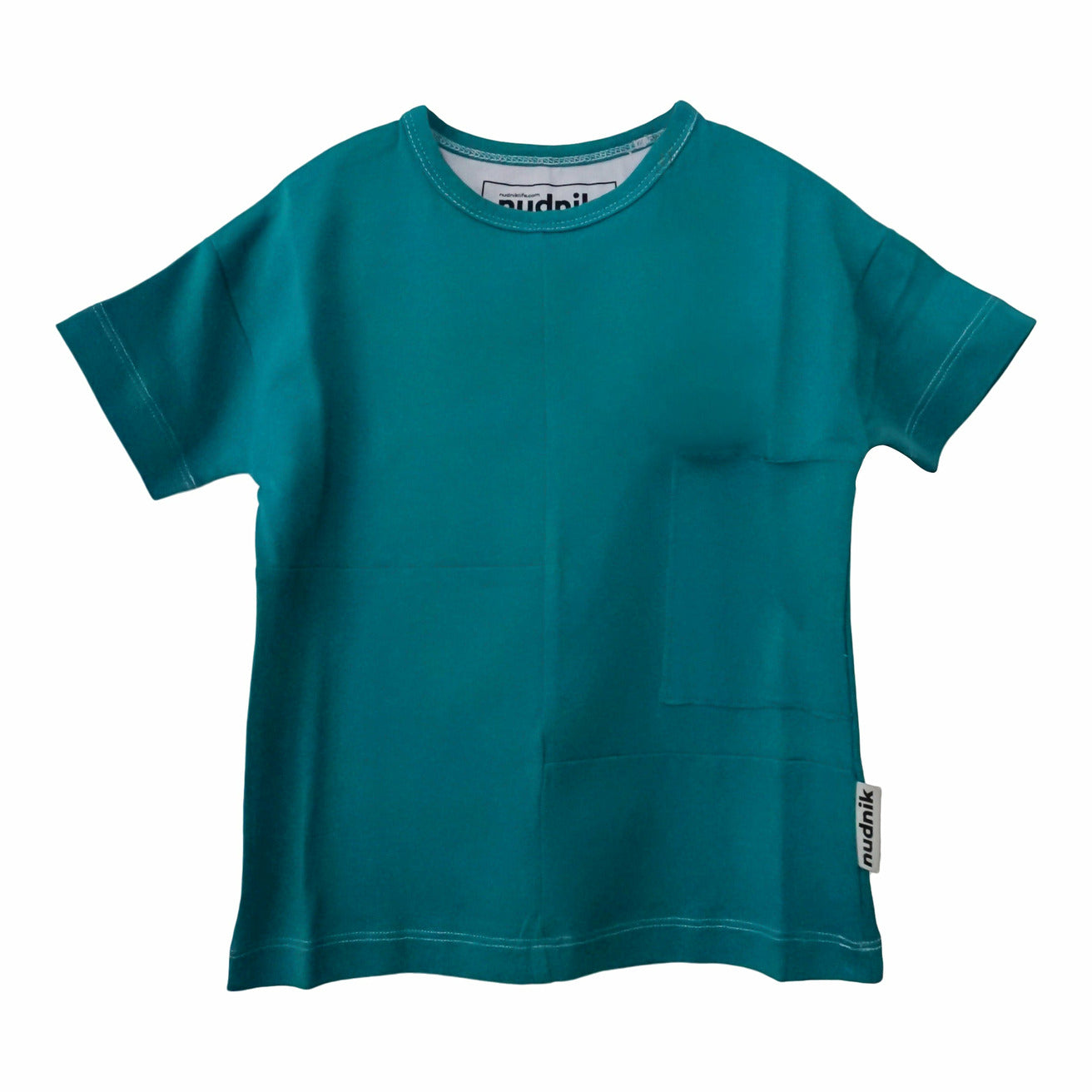 DISRUPTOR TEE in Treat Teal - NUDNIK