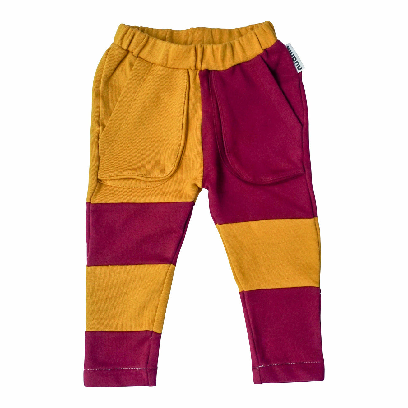 INNOVATOR JOGGER in Pepper Yellow + Pepperoni Purple - NUDNIK