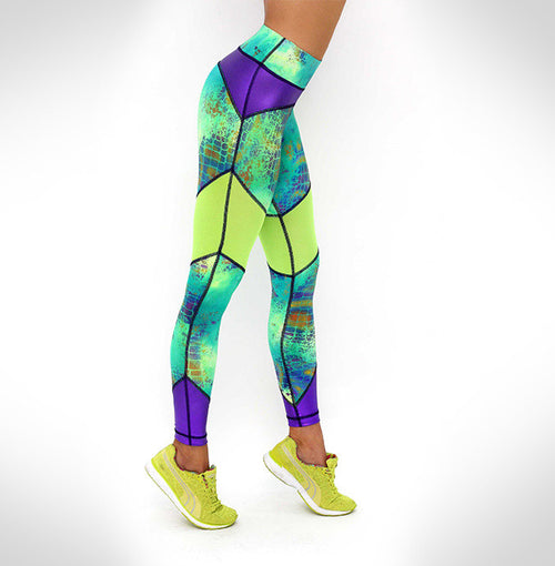 Brucey Legging in Lime
